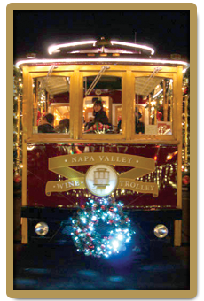 napa trolley holiday sidebar
