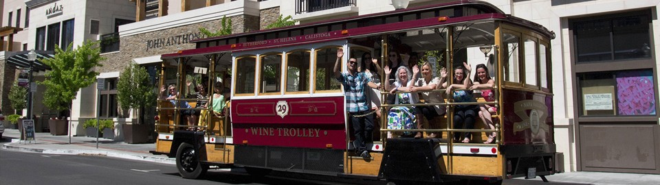 napa valley wine trolley 2